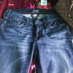 Lucky wide leg jeans size 4